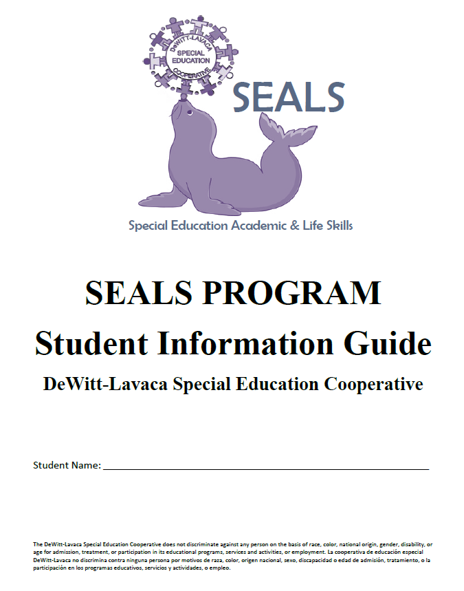 SEALS Program Student Information Guide