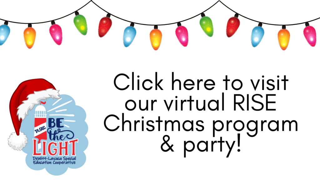 Click here to visit our virtual RISE Christmas program and party!